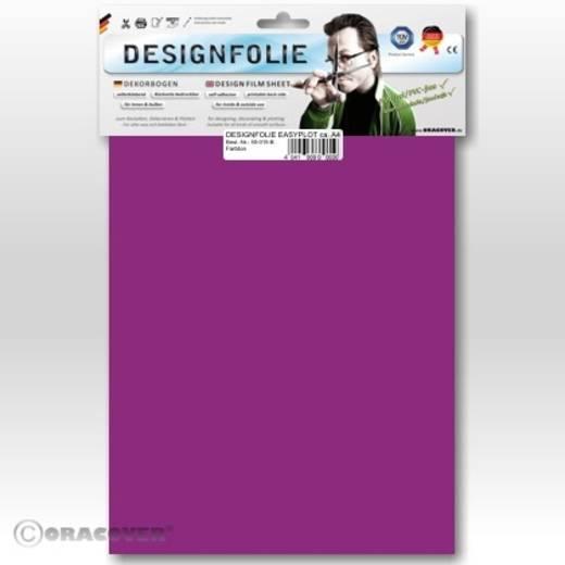 Designfolie Oracover Easyplot 80-058-B (L x B) 300 mm x 208 mm Transparent-Violett