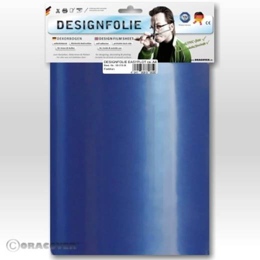Designfolie Oracover Easyplot 50-057-B (L x B) 300 mm x 208 mm Perlmutt-Blau