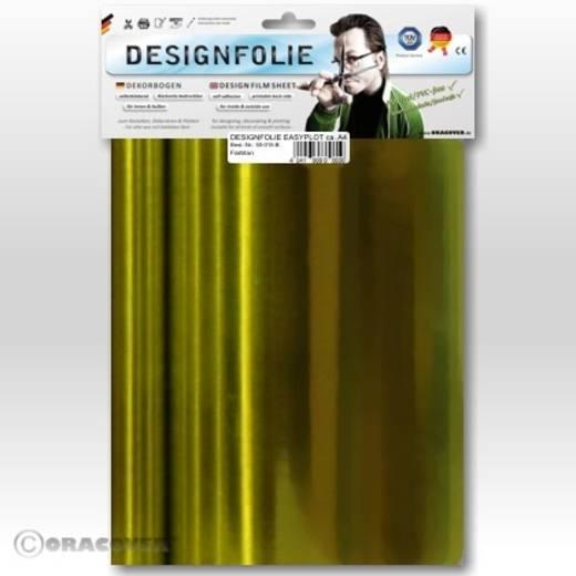 Designfolie Oracover Easyplot 50-094-B (L x B) 300 mm x 208 mm Chrom-Gelb