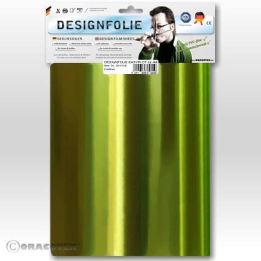 Designfolie Oracover Easyplot 50-095-B (L x B) 300 mm x 208 mm Chrom-Hellgrün