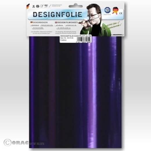 Designfolie Oracover Easyplot 50-100-B (L x B) 300 mm x 208 mm Chrom-Violett