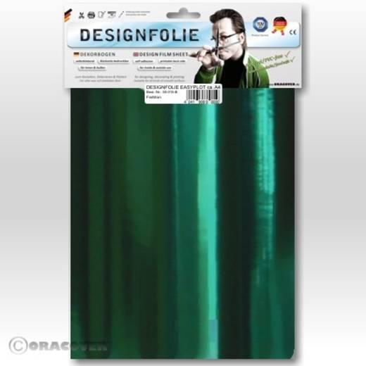 Designfolie Oracover Easyplot 50-103-B (L x B) 300 mm x 208 mm Chrom-Grün