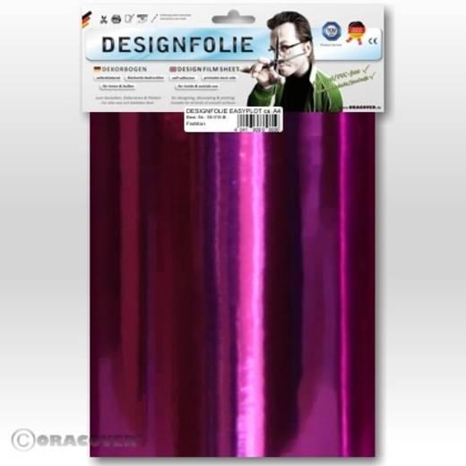 Designfolie Oracover Easyplot 50-104-B (L x B) 300 mm x 208 cm Chrom-Magenta
