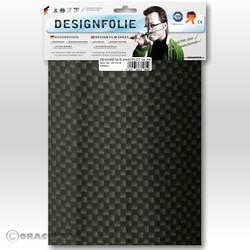 Image of Oracover 450-071-B Designfolie Easyplot (L x B) 300 mm x 208 mm Carbon