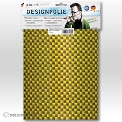 Image of Oracover 450-036-B Designfolie Easyplot (L x B) 300 mm x 208 mm Kevlar®