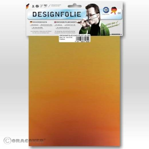 Designfolie Oracover Easyplot Magic 550-102-B (L x B) 300 mm x 208 cm Rot-Gold