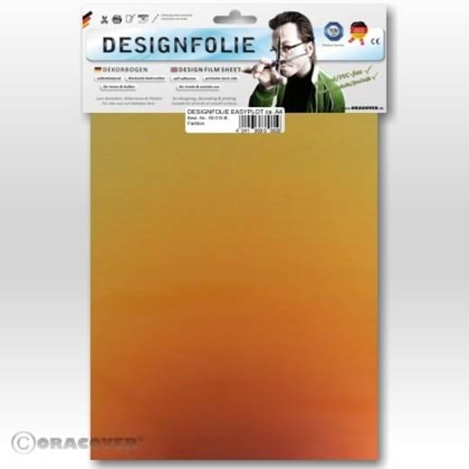Designfolie Oracover Easyplot Magic 550-102-B (L x B) 300 mm x 208 mm Rot-Gold