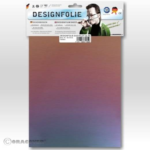 Designfolie Oracover Easyplot Magic 550-103-B (L x B) 300 mm x 208 mm Cyan-Violett