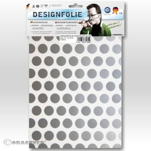 Designfolie Oracover Easyplot Fun 1 90-010-091-B (L x B) 300 mm x 208 mm Weiß-Silber