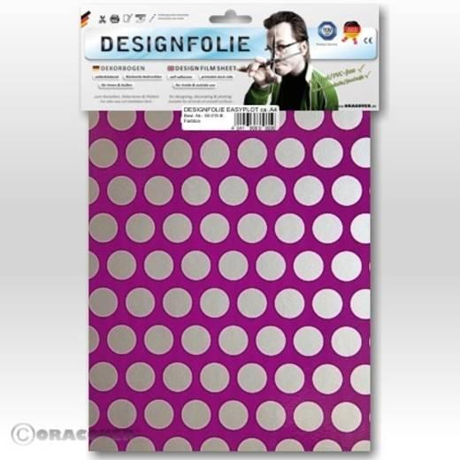 Designfolie Oracover Easyplot Fun 1 90-015-091-B (L x B) 300 mm x 208 cm Violett-Silber (fluoreszierend)