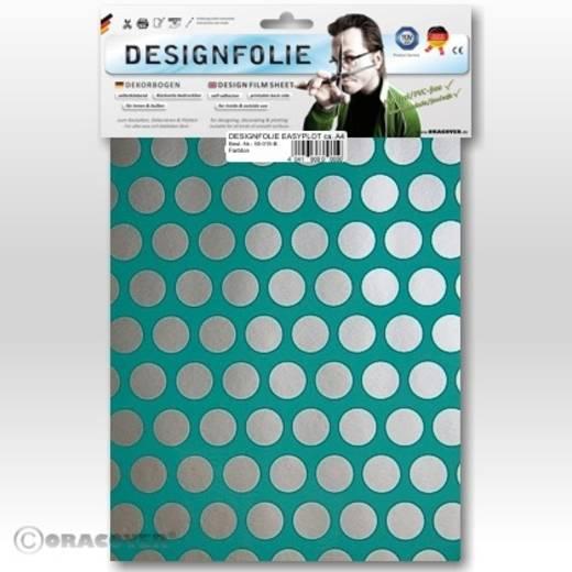 Designfolie Oracover Easyplot Fun 1 90-017-091-B (L x B) 300 mm x 208 mm Türkis-Silber
