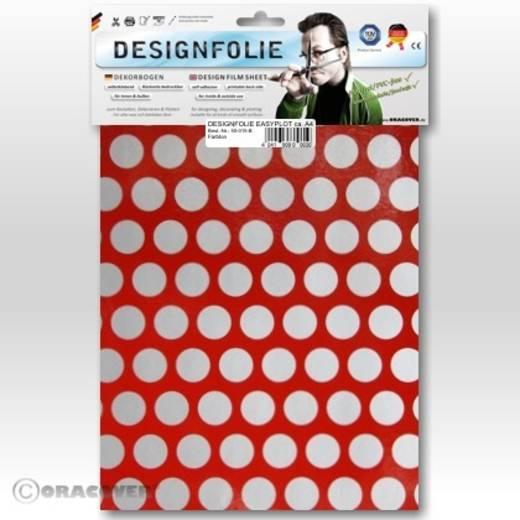 Designfolie Oracover Easyplot Fun 1 90-023-091-B (L x B) 300 mm x 208 cm Ferrirot-Silber
