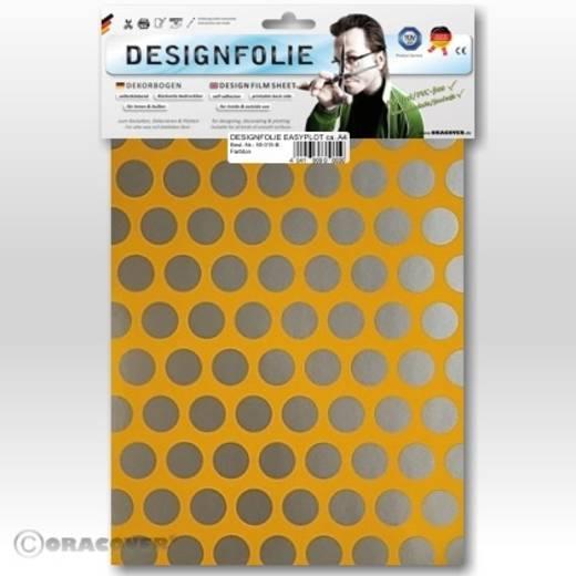 Designfolie Oracover Easyplot Fun 1 90-030-091-B (L x B) 300 mm x 208 mm Cub-Gelb-Silber