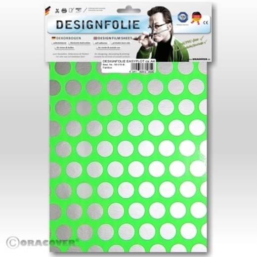 Designfolie Oracover Easyplot Fun 1 90-041-091-B (L x B) 300 mm x 208 mm Grün-Silber (fluoreszierend)