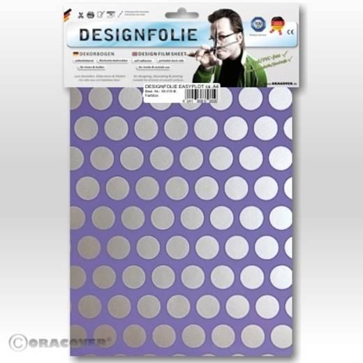 Designfolie Oracover Easyplot Fun 1 90-055-091-B (L x B) 300 mm x 208 cm Lila-Silber