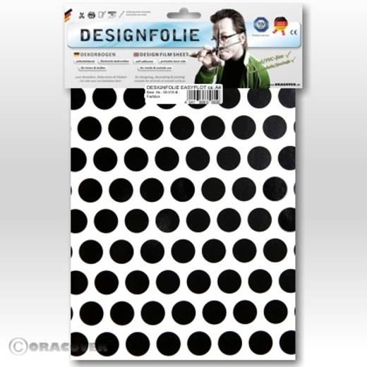Designfolie Oracover Easyplot Fun 1 90-010-071-B (L x B) 300 mm x 208 cm Weiß-Schwarz