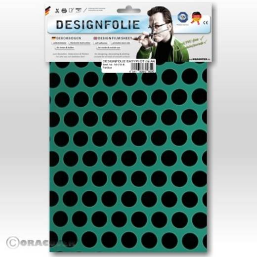 Designfolie Oracover Easyplot Fun 1 90-017-071-B (L x B) 300 mm x 208 cm Türkis-Schwarz