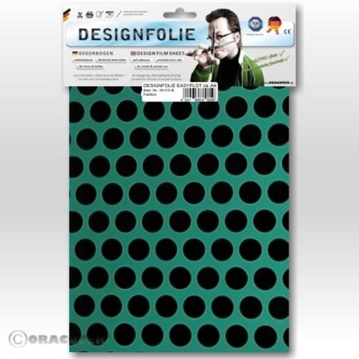 Designfolie Oracover Easyplot Fun 1 90-017-071-B (L x B) 300 mm x 208 mm Türkis-Schwarz