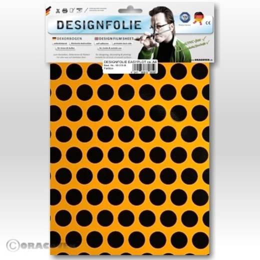 Designfolie Oracover Easyplot Fun 1 90-030-071-B (L x B) 300 mm x 208 cm Cub-Gelb-Schwarz