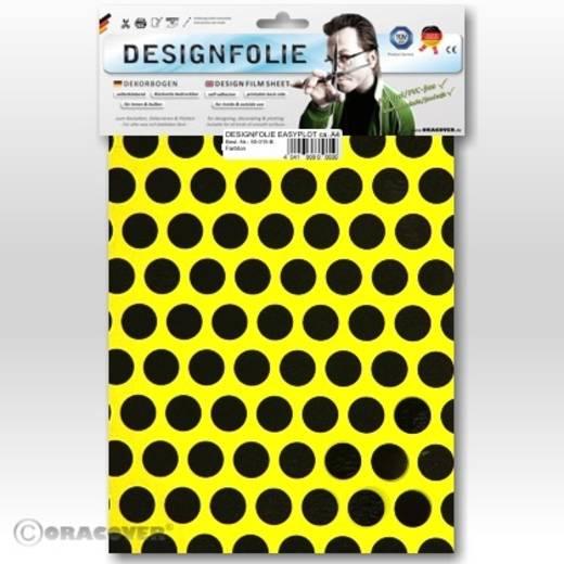 Designfolie Oracover Easyplot Fun 1 90-031-071-B (L x B) 300 mm x 208 cm Gelb-Schwarz (fluoreszierend)
