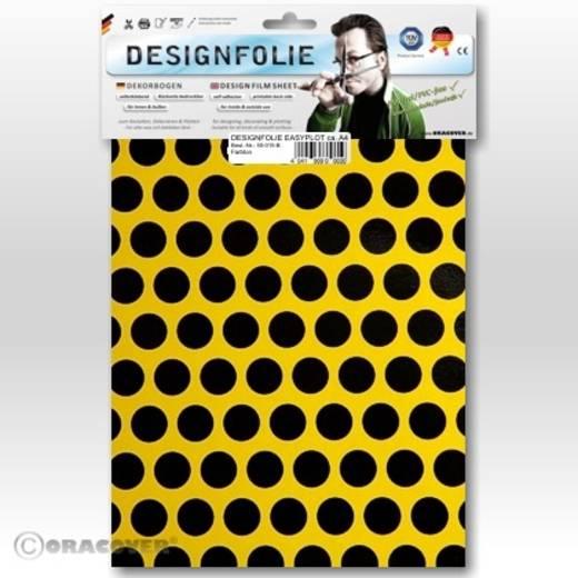Designfolie Oracover Easyplot Fun 1 90-033-071-B (L x B) 300 mm x 208 cm Cadmium-Gelb-Schwarz