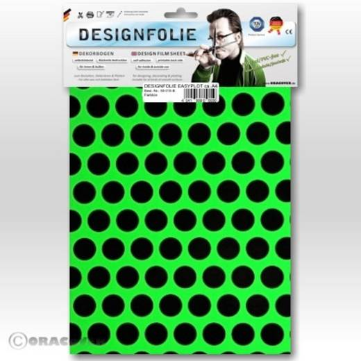 Designfolie Oracover Easyplot Fun 1 90-041-071-B (L x B) 300 mm x 208 mm Grün-Schwarz (fluoreszierend)