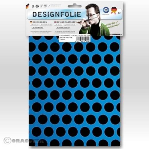 Designfolie Oracover Easyplot Fun 1 90-051-071-B (L x B) 300 mm x 208 cm Blau-Schwarz (fluoreszierend)