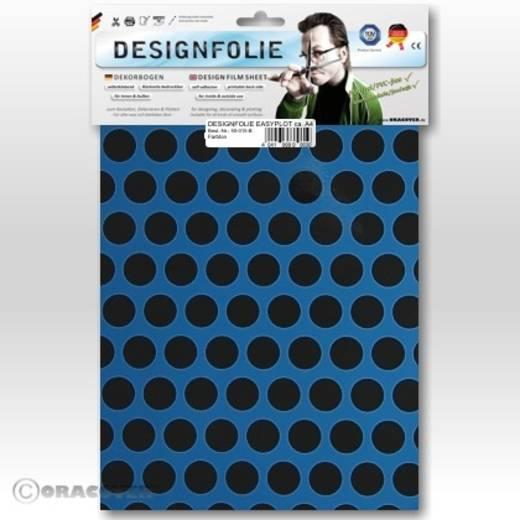 Designfolie Oracover Easyplot Fun 1 90-053-071-B (L x B) 300 mm x 208 mm Hell-Blau-Schwarz
