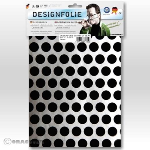 Designfolie Oracover Easyplot Fun 1 90-091-071-B (L x B) 300 mm x 208 cm Silber-Schwarz