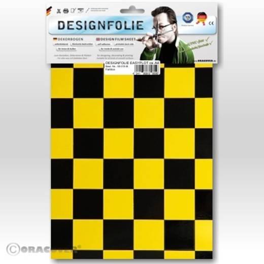Designfolie Oracover Easyplot Fun 3 87-033-071-B (L x B) 300 mm x 208 mm Gelb-Schwarz