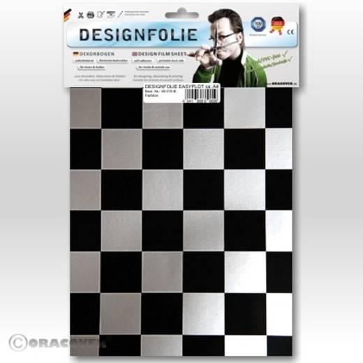 Designfolie Oracover Easyplot Fun 3 87-091-071-B (L x B) 300 mm x 208 mm Silber-Schwarz