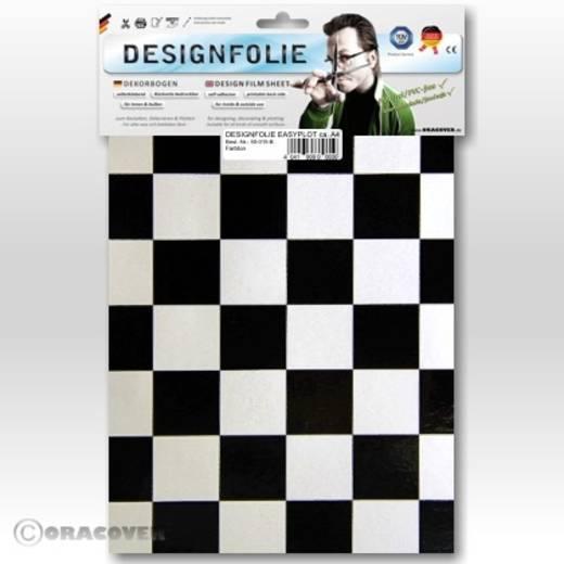 Designfolie Oracover Easyplot Fun 3 87-016-071-B (L x B) 300 mm x 208 cm Perlmutt-Weiß-Schwarz