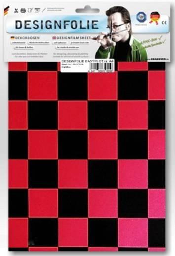 Designfolie Oracover Easyplot Fun 3 87-027-071-B (L x B) 300 mm x 208 mm Perlmutt-Rot-Schwarz