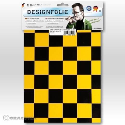 Designfolie Oracover Easyplot Fun 3 87-037-071-B (L x B) 300 mm x 208 mm Perlmutt-Gold-Gelb-Schwarz