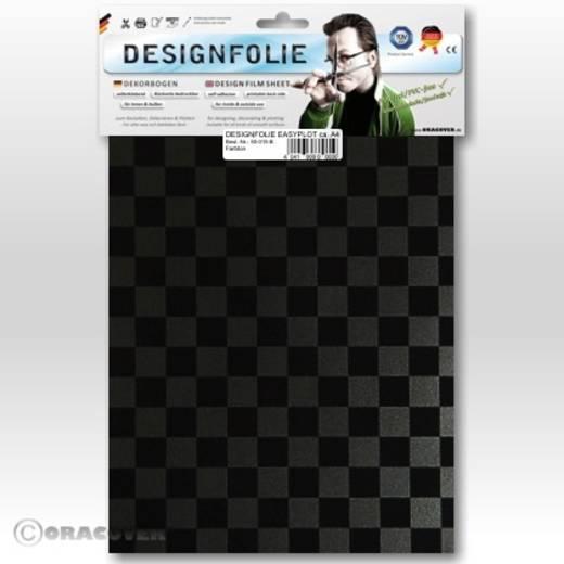Designfolie Oracover Easyplot Fun 4 95-077-071-B (L x B) 300 mm x 208 cm Perlmutt-Graphit-Schwarz