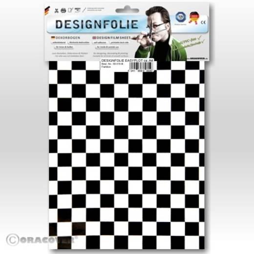 Designfolie Oracover Easyplot Fun 4 95-010-071-B (L x B) 300 mm x 208 mm Weiß-Schwarz
