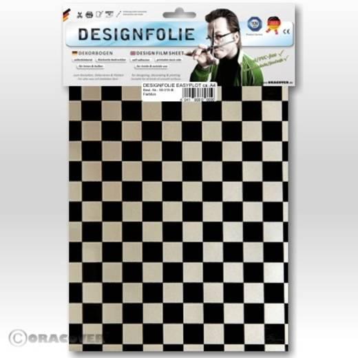 Designfolie Oracover Easyplot Fun 4 95-016-071-B (L x B) 300 mm x 208 mm Perlmutt-Weiß-Schwarz