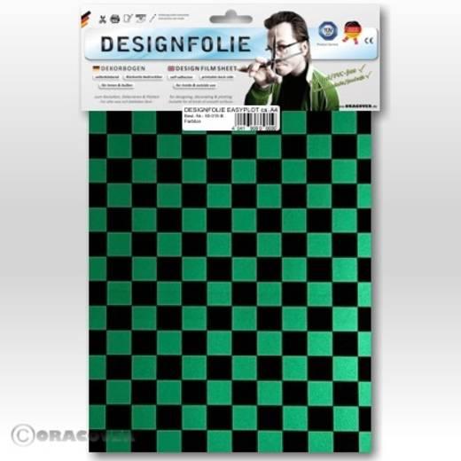 Designfolie Oracover Easyplot Fun 4 95-047-071-B (L x B) 300 mm x 208 cm Perlmutt-Grün-Schwarz