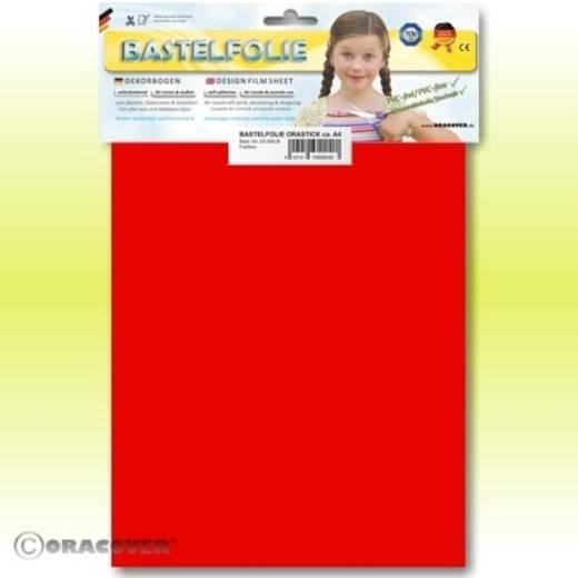 Klebefolie Oracover Orastick 25-021-B (L x B) 300 mm x 208 cm Rot (fluoreszierend)