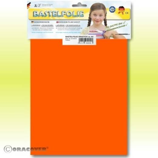 Klebefolie Oracover Orastick 25-065-B (L x B) 300 mm x 208 mm Signal-Orange (fluoreszierend)