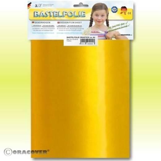 Klebefolie Oracover Orastick 25-037-B (L x B) 300 mm x 208 mm Perlmutt-Gold-Gelb