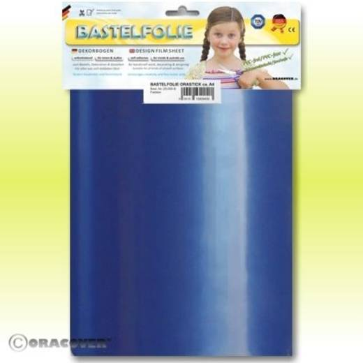 Klebefolie Oracover Orastick 25-057-B (L x B) 300 mm x 208 mm Perlmutt-Blau