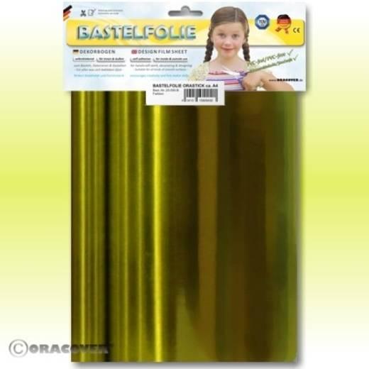 Klebefolie Oracover Orastick 25-094-B (L x B) 300 mm x 208 mm Chrom-Gelb