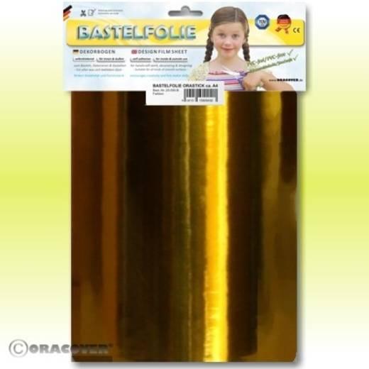 Klebefolie Oracover Orastick 25-098-B (L x B) 300 mm x 208 mm Chrom-Orange