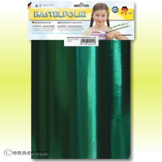 Klebefolie Oracover Orastick 25-103-B (L x B) 300 mm x 208 mm Chrom-Grün