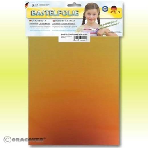 Klebefolie Oracover Orastick Magic 525-102-B (L x B) 300 mm x 208 cm Rot-Gold