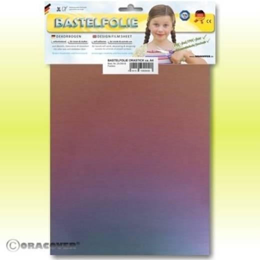 Klebefolie Oracover Orastick Magic 525-103-B (L x B) 300 mm x 208 mm Cyan-Violett