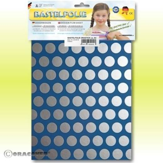 Klebefolie Oracover Orastick Fun 1 45-053-091-B (L x B) 300 mm x 208 mm Hell-Blau-Silber
