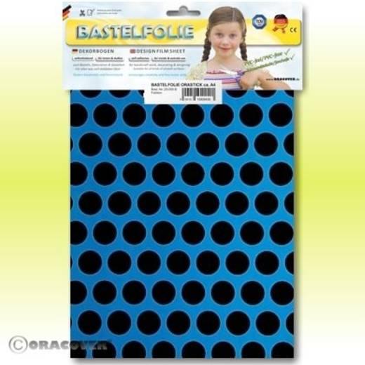 Klebefolie Oracover Orastick Fun 1 45-051-071-B (L x B) 300 mm x 208 mm Blau-Schwarz (fluoreszierend)