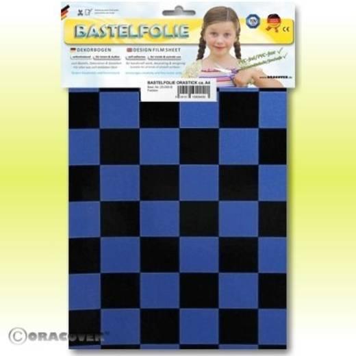 Klebefolie Oracover Orastick Fun 3 47-057-071-B (L x B) 300 mm x 208 mm Perlmutt-Blau-Schwarz